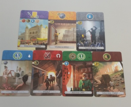 7 wonders duel card types